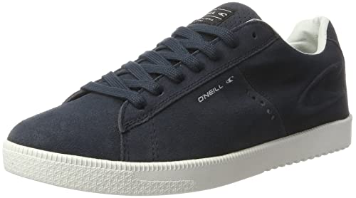 O'Neill Men's Ledge Low Suede Low-Top Blue Size: 7.5 UK
