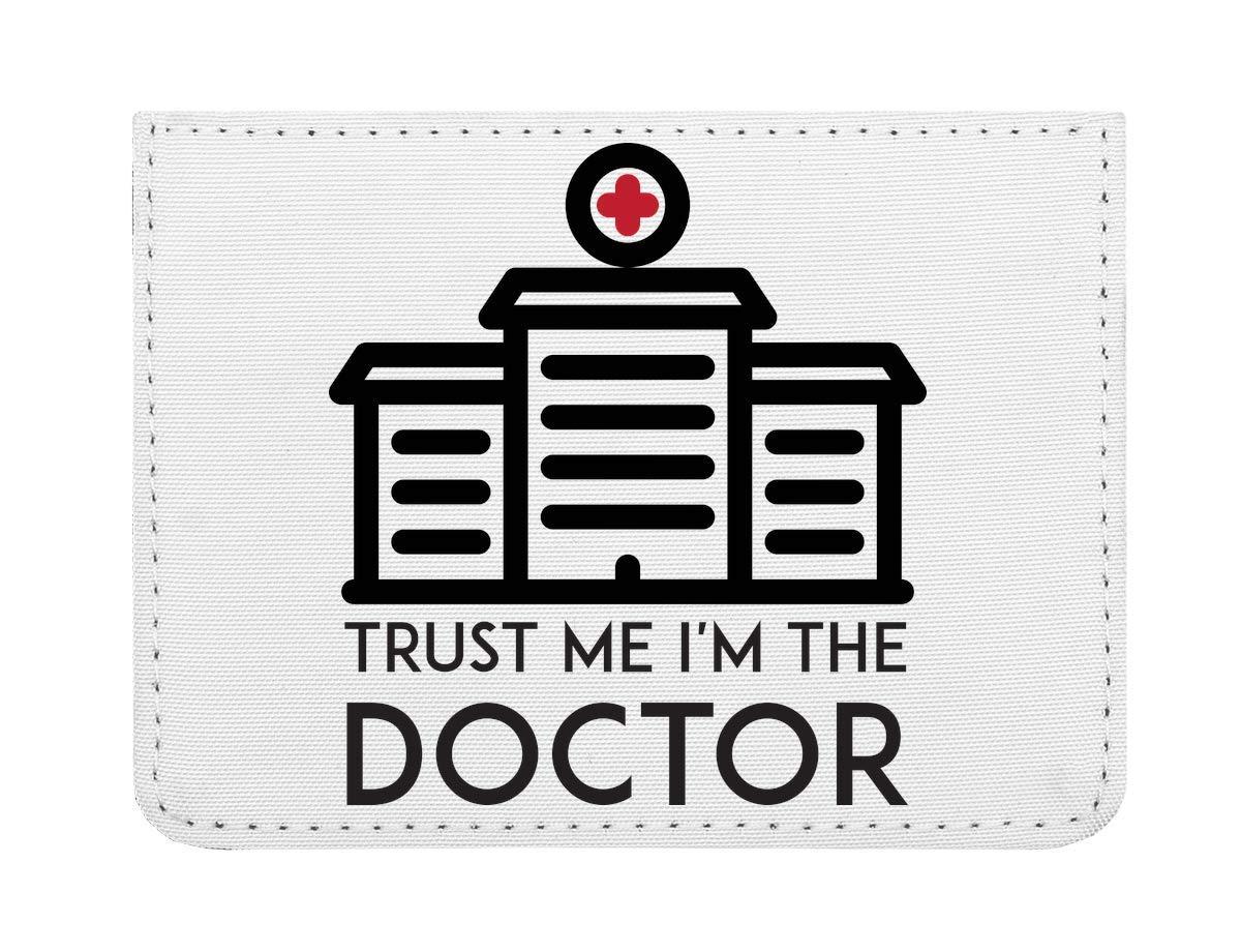 Trus I'm a Doctor Étui pour Cartes de crédit de Poche