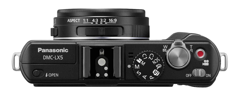 amazon com panasonic lumix dmc lx5 10 1 mp digital camera with 3 8 rh amazon com Chauvet LX-5 lumix lx5 manual pdf