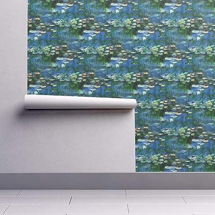 Monet Wallpaper Roll Waterlillies Water Lilies Water Lilly