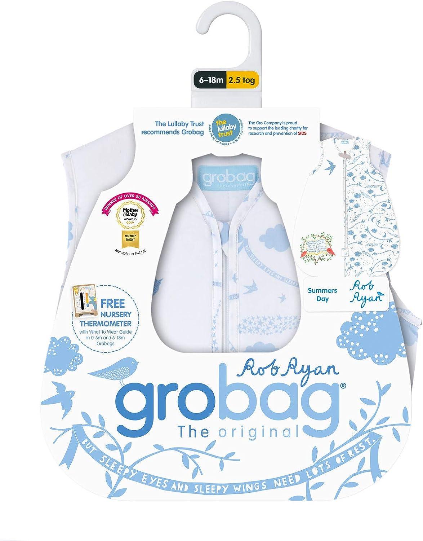 6-18 Months The Gro Company Rob Ryan Summers Day Grobag Baby Sleeping Bag 2.5 Tog