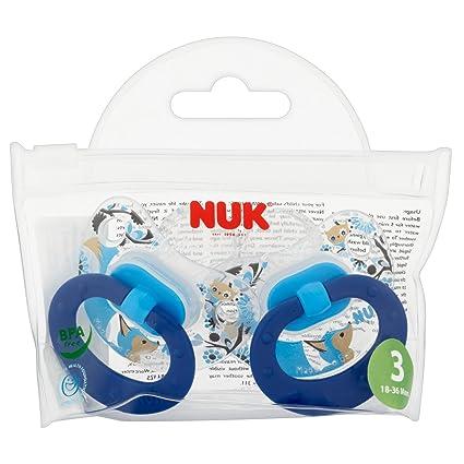 NUK Classic Felices Días Chupetes de silicona Fox Parent ...