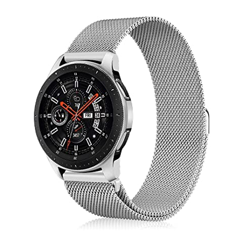 chaussures exclusives comment acheter magasin britannique Fintie Bracelet pour Samsung Galaxy Watch 46mm / Gear S3 Frontier/Gear S3  Classic Smartwatch - Sport Poignet en métal Replacement Bracelet avec ...