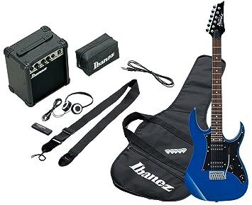 Ibanez IJRG200-BL - Guitarra eléctrica, color azul: Amazon.es: Instrumentos musicales