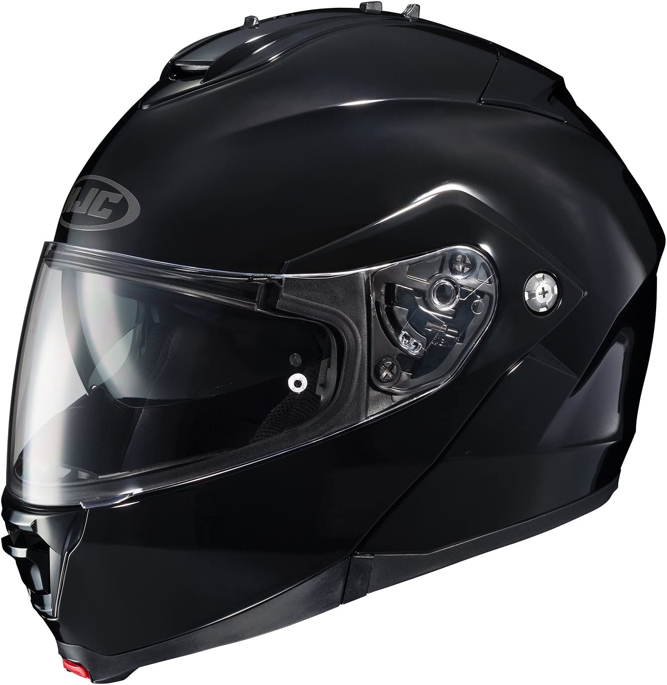 HJC IS-MAX2 Solid Modular/Flip Up Helmet (Black, Large)