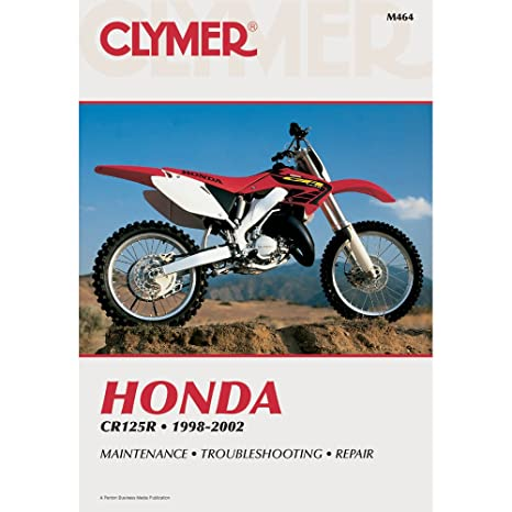 amazon com 98 02 honda cr125 clymer service manual misc home rh amazon com 2001 Honda CR 125 1980 Honda CR 125