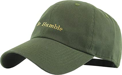 c96ee2a3 Amazon.com: KBSV-074 OLV Be Humble Dad Hat Baseball Cap Polo Style ...