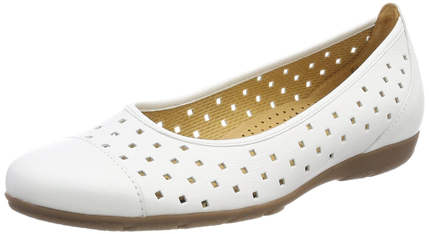 Gabor Shoes B071FC815Y Gabor Casual, Blanc Ballerines Femme Shoes Blanc (Weiss) 3d3c031 - latesttechnology.space
