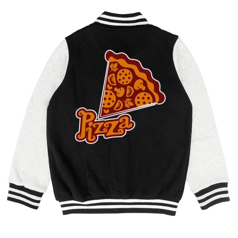 Kids Heart Shaped Pizza Little Boys Tops for Girls Boys Casual Warm Coats