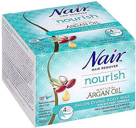Nair Nourish Salon Divine Body Wax Pro Sensitive Complex