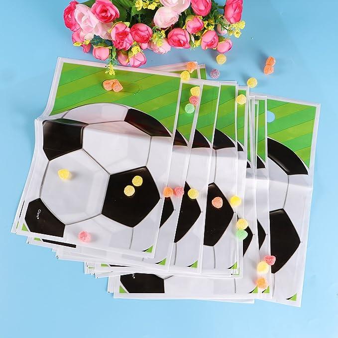 Amazon.com: STOBOK 20pcs Soccer Balls Party Favor Bags Candy ...