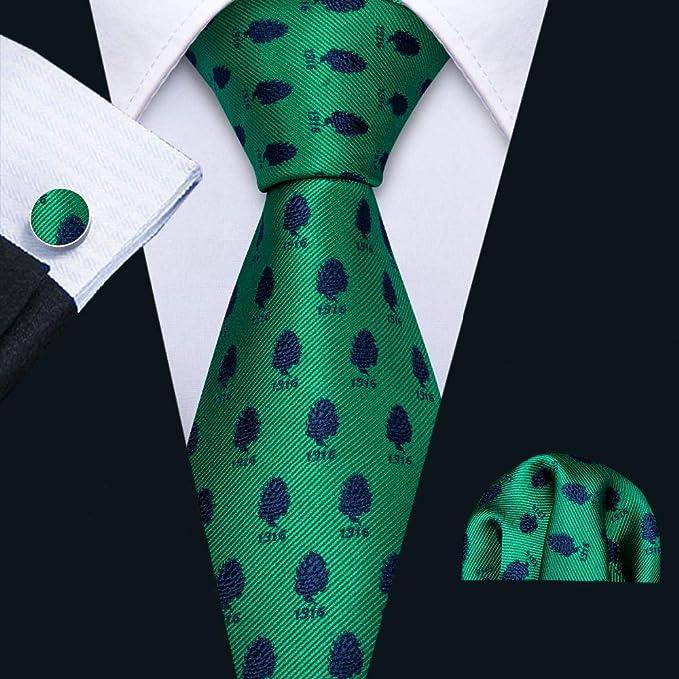 HYCZJH Nueva Corbata de Seda con Estampado de Corbata de Seda con ...