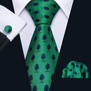 HYCZJH Nueva Corbata de Seda con Estampado de Corbata de ...