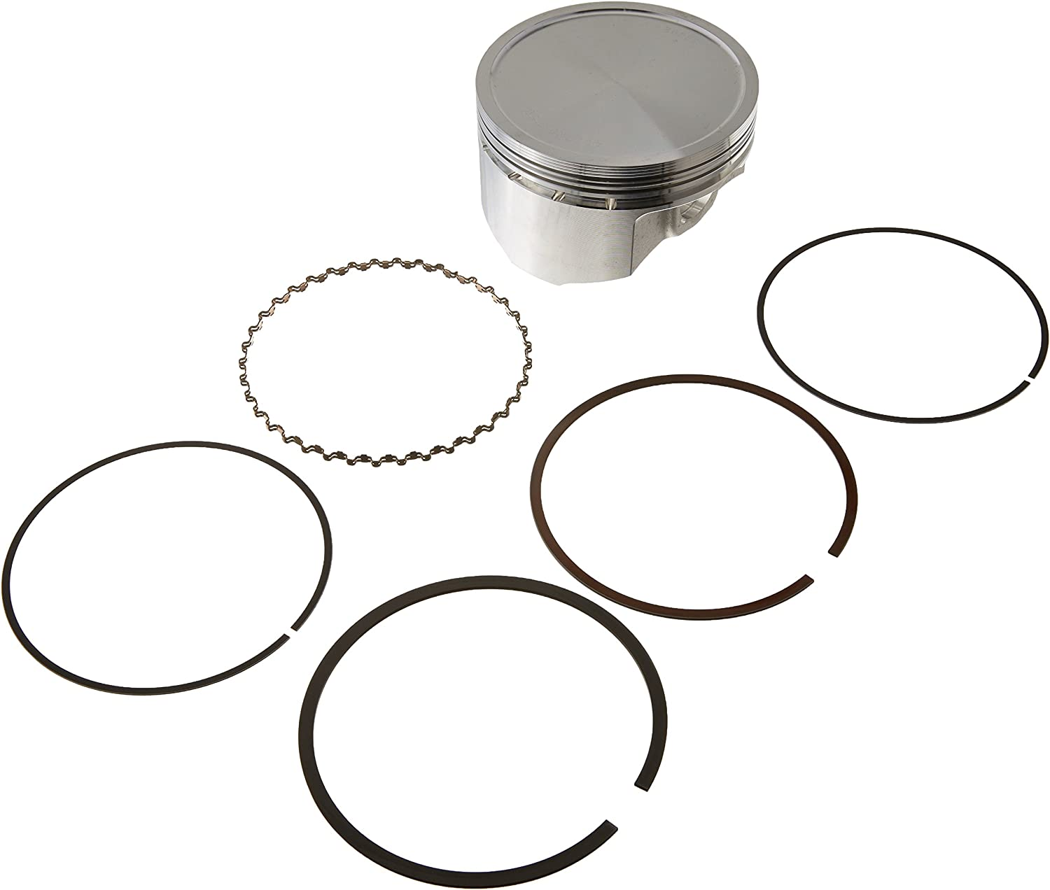 Wiseco 4665M04950 49.50mm 9.7:1 Compression 83cc Motorcycle Piston Kit