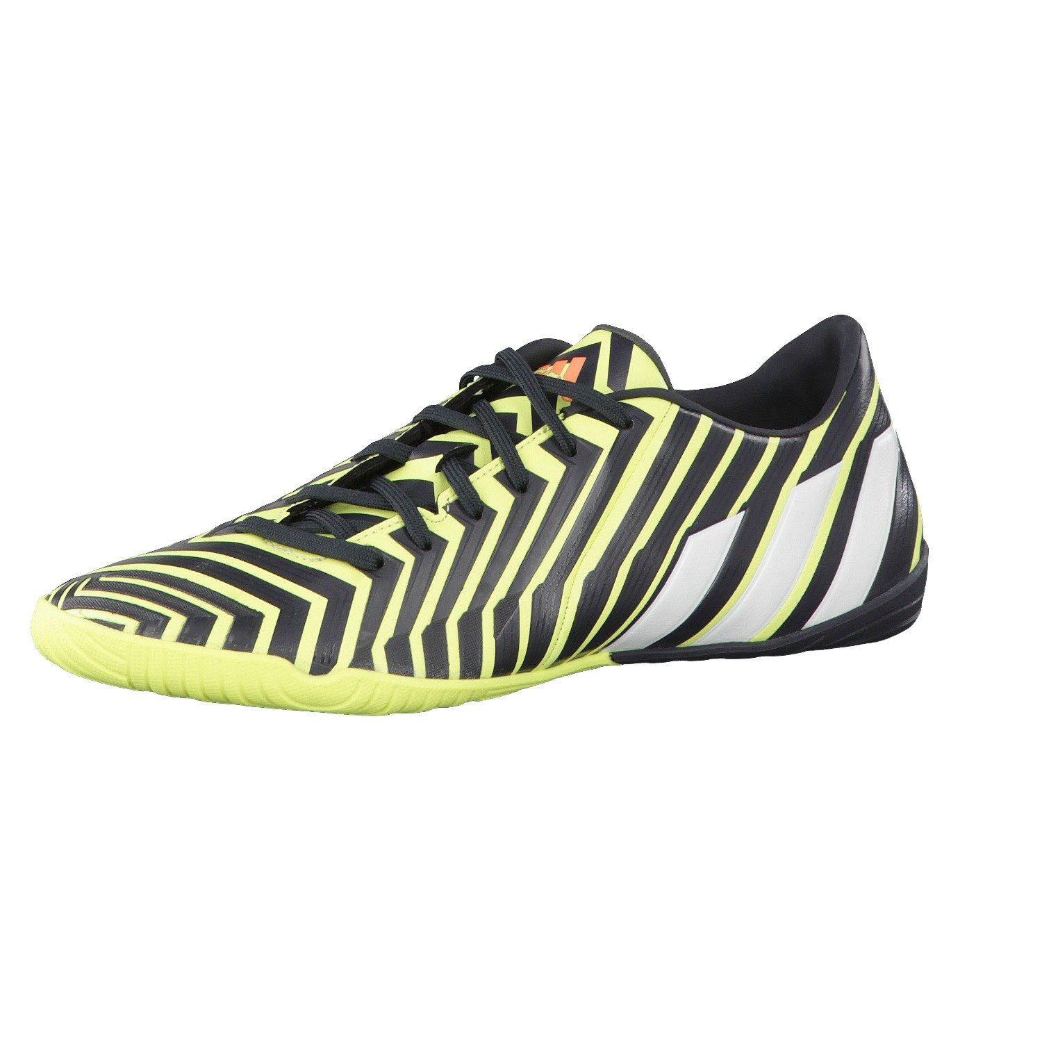 Adidas Fussballschuhe P Absolado Instinct IN 46 2 3 light flash yellow s15 ftwr Weiß dark Grau