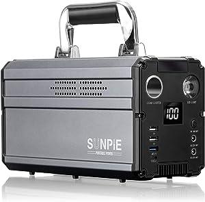 SUNPIE  330Wh AC出力300W ポータブル電源