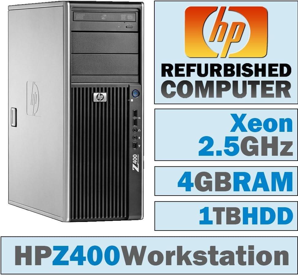 HP Z400 Workstation TWR/Xeon W3505 @ 2.53 GHz/4GB DDR3/1TB HDD/DVD-RW/No OS