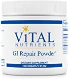 Vital Nutrients - GI Repair Powder - Promotes Healthy Intestinal Function and a Healthy Gastrointestinal Lining - 168 Grams
