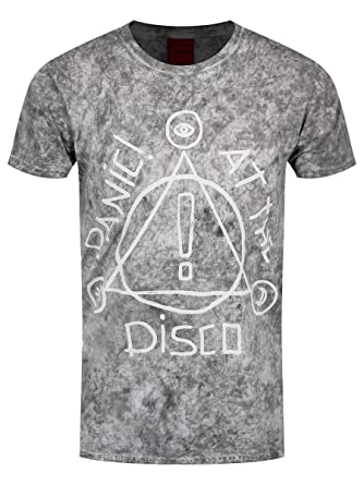 1636b1161 Panic At The Disco Men39;s Icons Speckle Wash T-shirt Grey: Amazon.co.uk:  Clothing