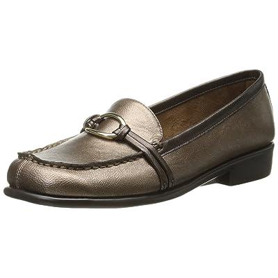 Amazon.com | Aerosoles Women's Dubious, Bronze/Metallic, 5 M US | Flats