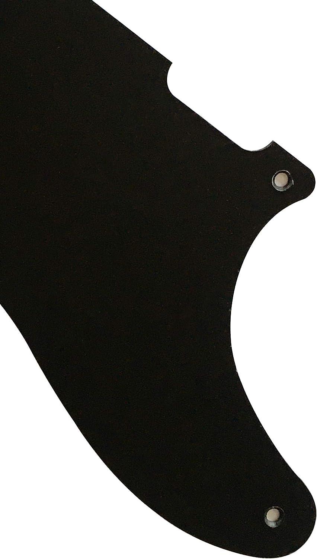 Guitar Parts For Fender Tele La Cabronita Mexican Guitar Pickguard 1 Ply Black