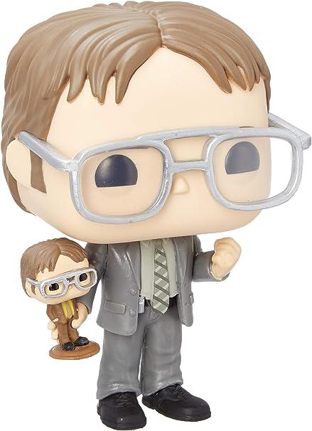 Amazon Com Funko Pop Tv The Office Dwight Holding Dwight