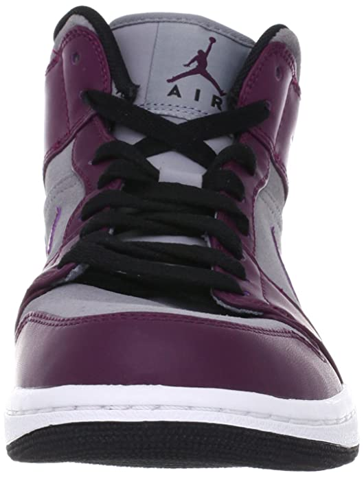 NIKE Air Jordan 1 Phat Mid Mens Basketball Shoes 364770-605 Bordeaux 8.5 M  US  Amazon.co.uk  Shoes   Bags fe2a63704