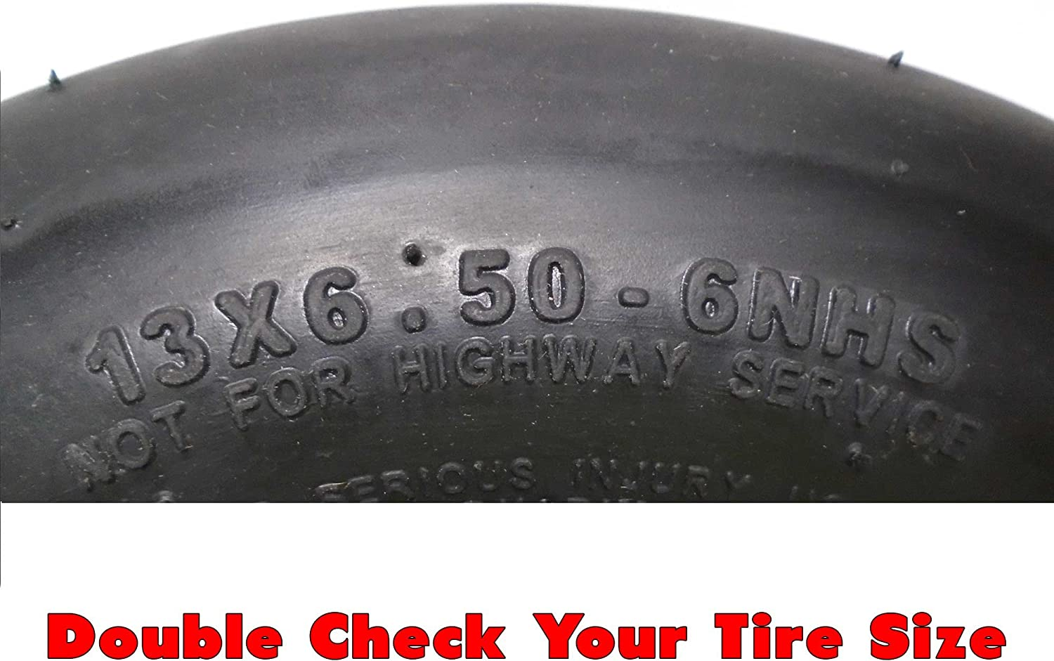 MowerPartsGroup 1 5035-1 Walker Pneumatic Tire Assembly 13x6.50-6 Replaces 5035 5036