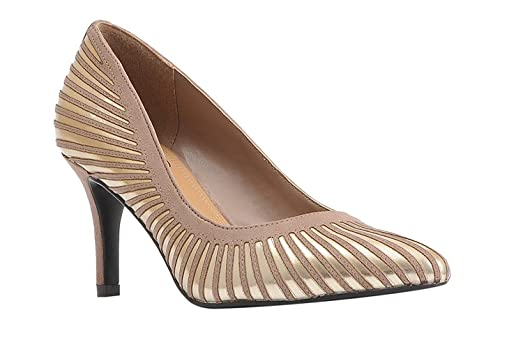 Verlene Dress Pump Stucco/Gold