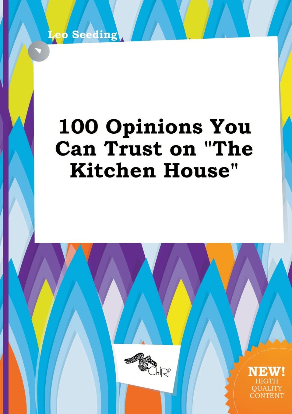 100 Opinions You Can Trust on the Kitchen House: Leo Seeding ...