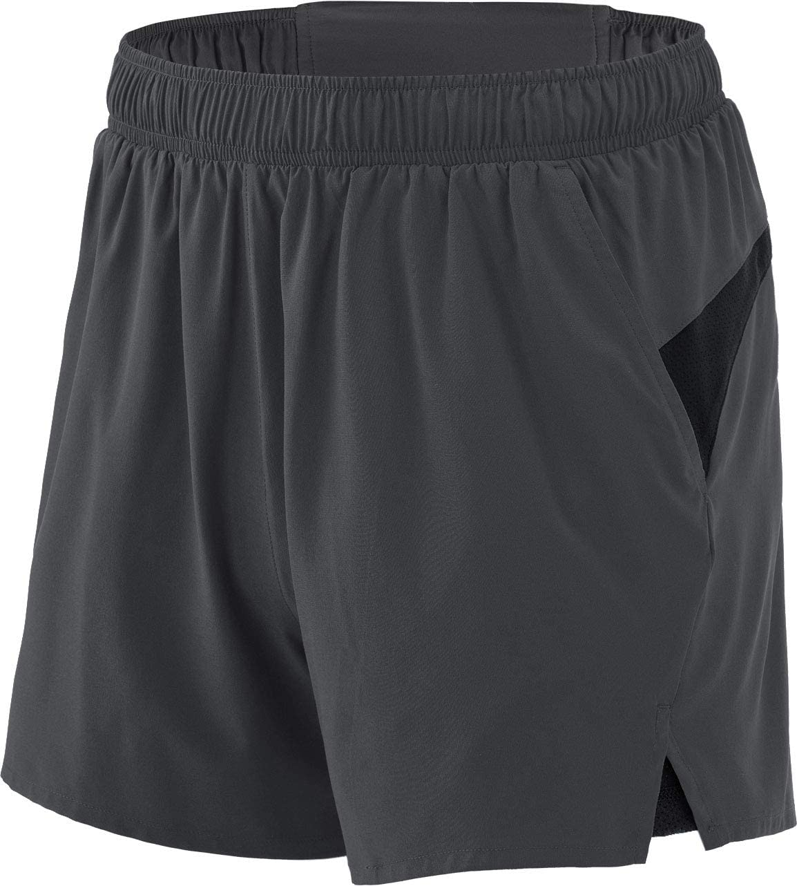 TSLA Mens 4 inches Quick-Dry Running Active Performance Shorts