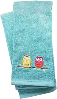 Set Of 2 Owl Hand Towels Owl Bathroom D Cor