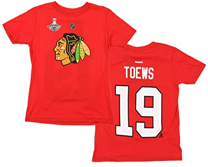63d373719 Image Unavailable. Image not available for. Color  NHL Big Boys Youth Chicago  Blackhawks Jonathan Toews  19 Player Tee