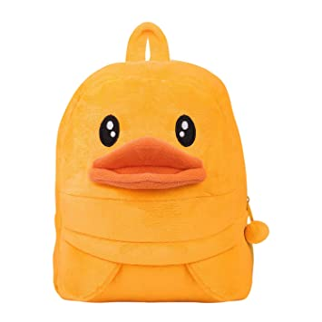 8d224df7eb Toddler Baby Yellow Duck Backpack Kids Cute Animal Cartoon Kindergarten  Schoolbag Mini Travel Bag Rucksack Strap