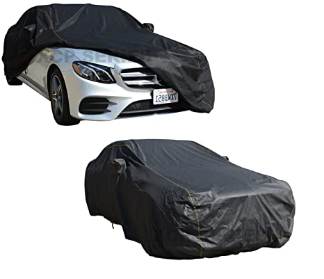 Elastic Hem MERCEDES-BENZ C-CLASS COUPE 11-ON Breathable Full Car Cover Double Stitched Seams Water Resistant