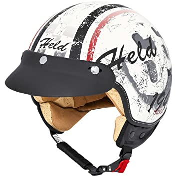 Held Classic-66 - Casco matt-weiss Talla:XL (61/62