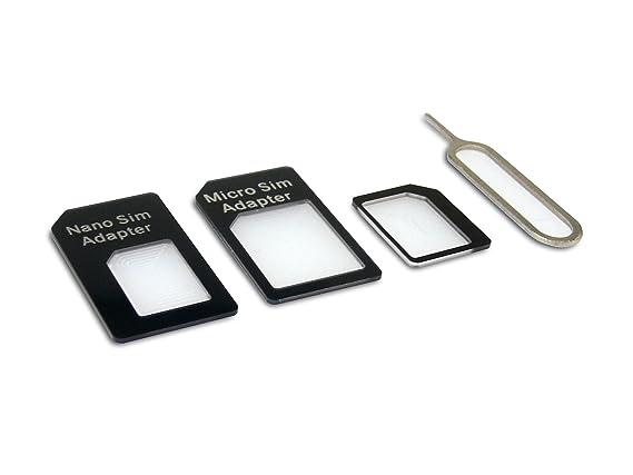 Amazon.com: Sandberg Adapter Kit 4 en 1, tarjeta SIM 440 ...