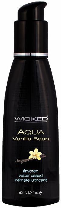 Wicked Sensual Care Water Based Lube, Vanilla Bean