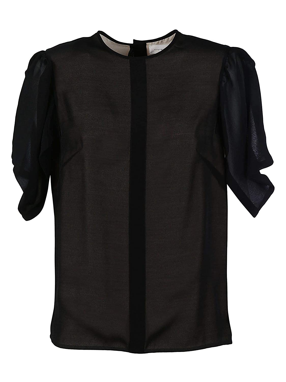 Victoria Beckham Women's TPTSH1307BLACK Black Polyester TShirt