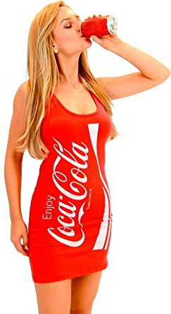Coca Cola Plus Size Dress