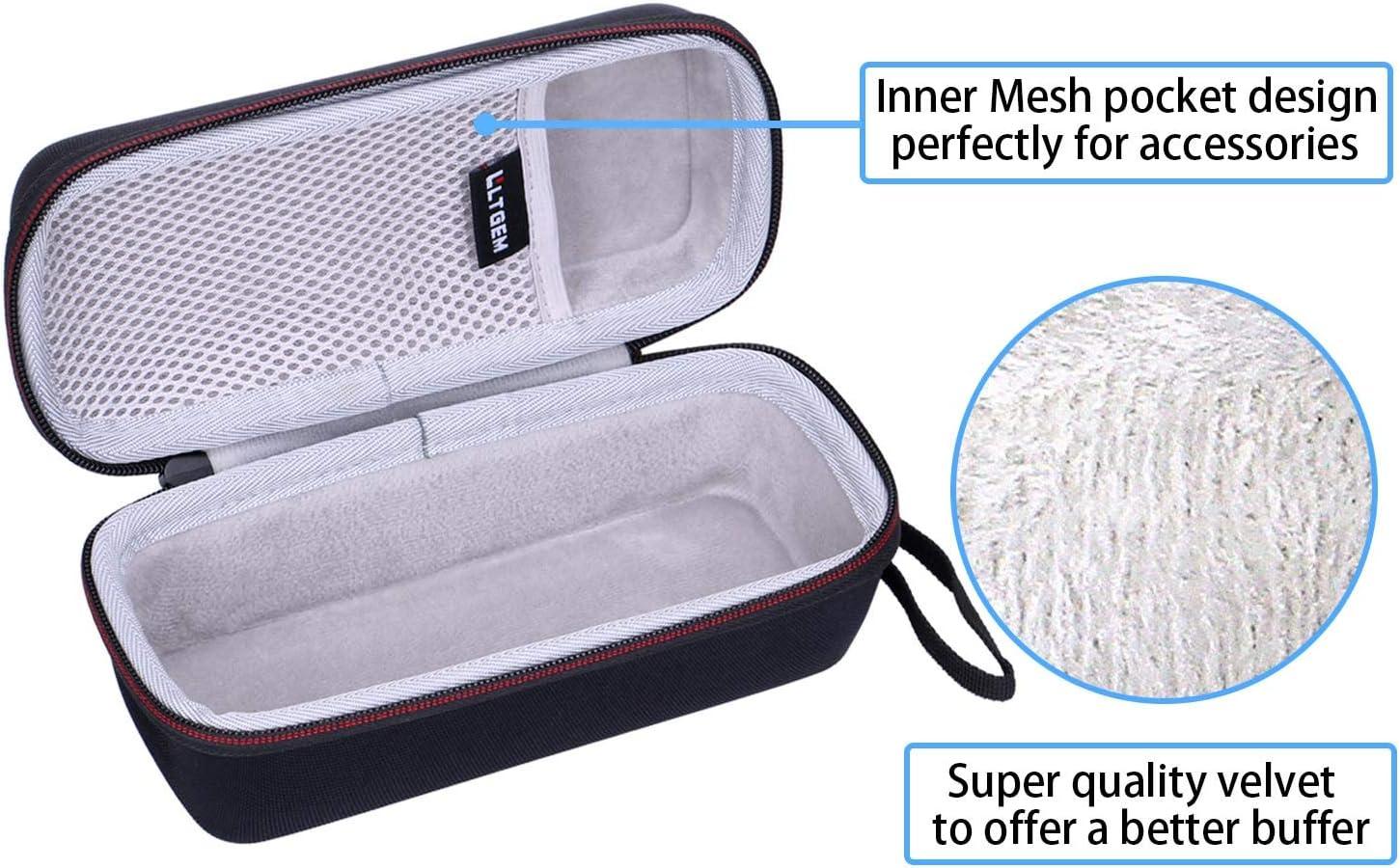 LTGEM Eva Hard Case H/ülle f/ür JBL Flip 5 Tragbarer Bluetooth Speaker