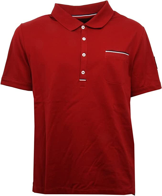 Moncler - Polo - para hombre rojo X-Large: Amazon.es: Ropa y ...