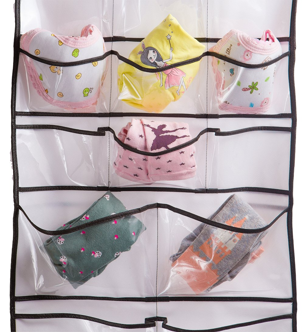 Misslo Hanging Closet Dual-Sided Organizers, 42 Pockets, 38.5 by 17.75-Inch by MISSLO (Image #3)