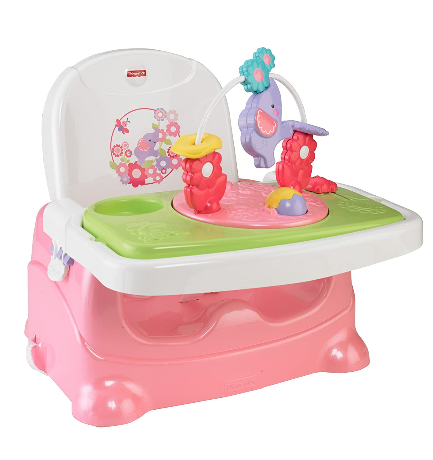 Fisher-Price Pretty 'n Pink Booster Seat, Elephant BMB79
