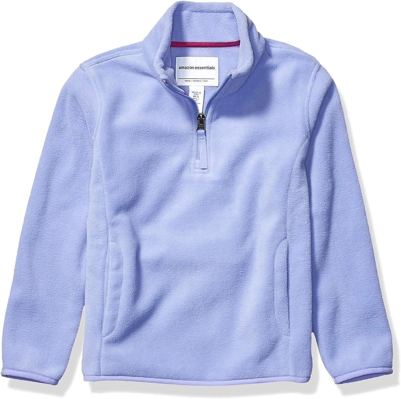 Essentials Quarter-Zip Polar Fleece Jacket Ni/ñas