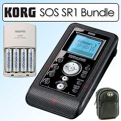 Amazon.com: Korg SOS SR1 sonido en Unlimited Track Grabador ...
