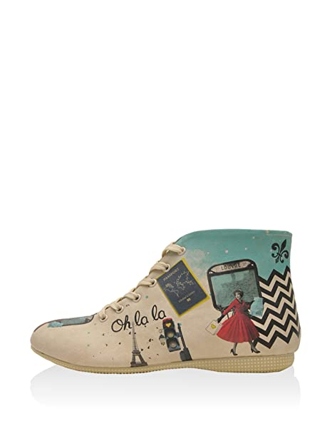 DOGO Let S Get Lost In Paris, Botines para Mujer, Beige, 41 EU: Amazon.es: Zapatos y complementos