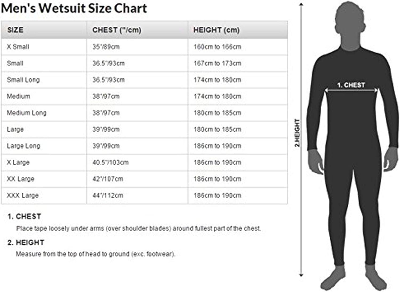 Osprey Mens Origin Full Length Wetsuit