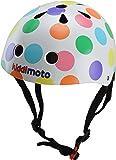 Kiddimoto Kids Pastel Dotty Helmet - Multicoloured, 53-58cm