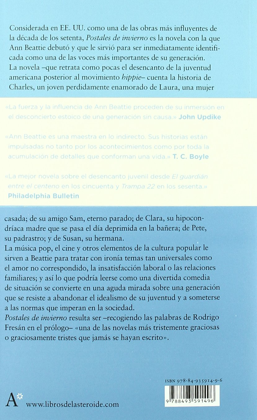 Postales de invierno (Spanish Edition): Ann Beattie, Rodrigo Fresán: 9788493591496: Amazon.com: Books